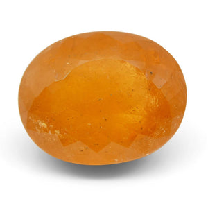 15.14ct Oval Fanta Orange Spessartite/Spessartine Garnet - Skyjems Wholesale Gemstones
