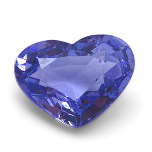 Spinel 1.4 cts 8.12x6.12x3.83mm Heart very slightly bluish Violet  $170