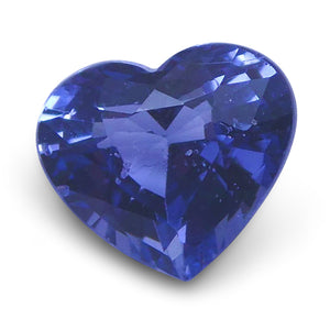 Spinel 1.15 cts 6.91x6.05x4.08mm Heart very slightly bluish Violet  $140