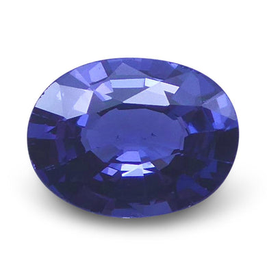 Spinel 1.05 cts 7.41x5.60x3.40mm Oval very slightly bluish Violet  $130