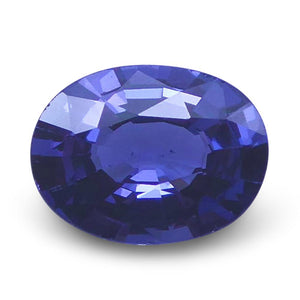 1.05 ct Oval Blue Spinel