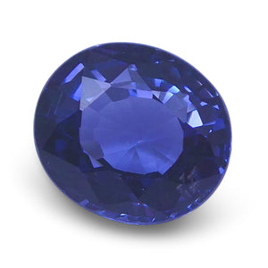 Spinel 1.33 cts 6.84x6.19x4.07mm Oval slightly bluish Violet  $160