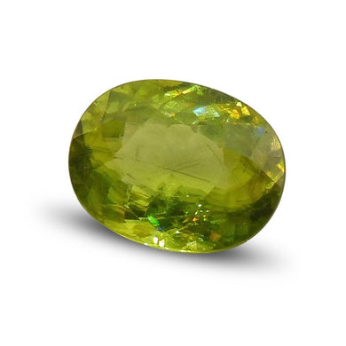 3.04 ct Oval Sphene - Skyjems Wholesale Gemstones