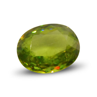 2.17 ct Oval Sphene - Skyjems Wholesale Gemstones