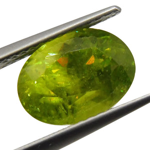 3.31 ct Oval Sphene - Skyjems Wholesale Gemstones