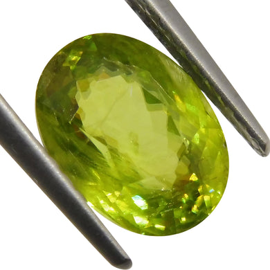 2.32 ct Oval Sphene