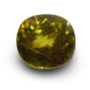 2.28 ct Cushion Sphene