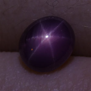 1.72 ct Star Ruby Oval Cabochon