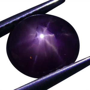 3.07 ct Star Ruby Oval Cabochon