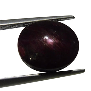 9.21 ct Oval Star Ruby - Skyjems Wholesale Gemstones