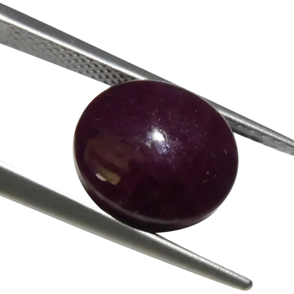 6.48 ct Oval Star Ruby