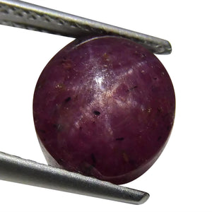 6.58 ct Oval Star Ruby