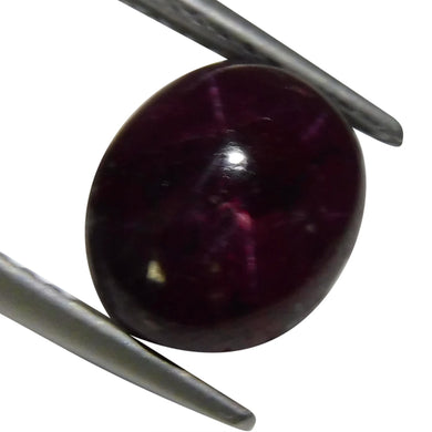 4.41 ct Oval Star Ruby