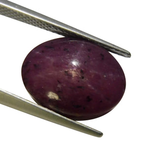 13.55 ct Oval Star Ruby