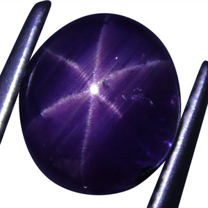 2.95 ct Star Sapphire Oval Cabochon