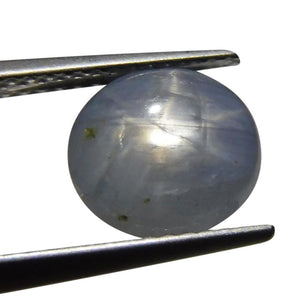 4.63 ct Oval Star Sapphire - Skyjems Wholesale Gemstones