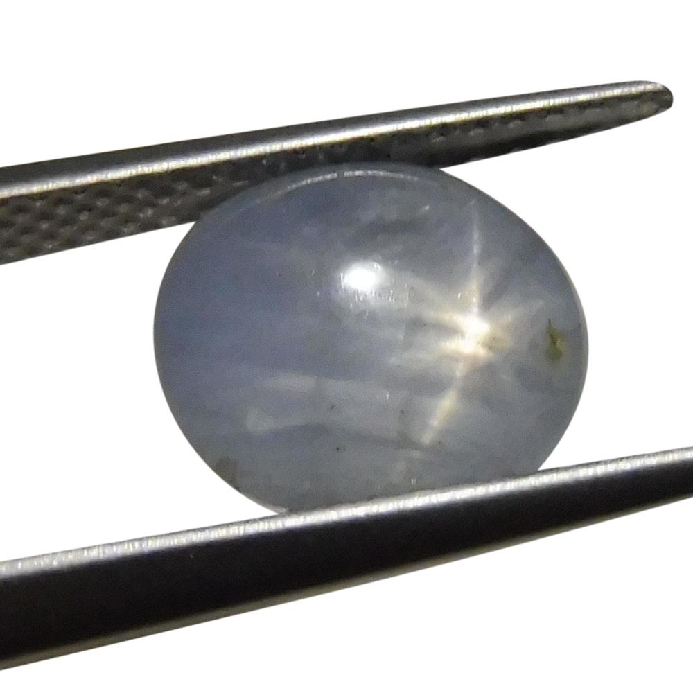 5.26 ct Oval Star Sapphire