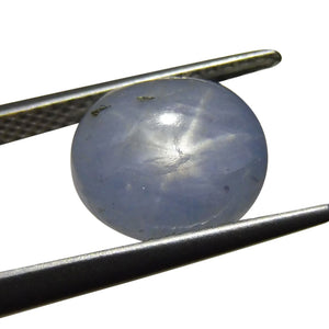 4.55 ct Oval Star Sapphire - Skyjems Wholesale Gemstones