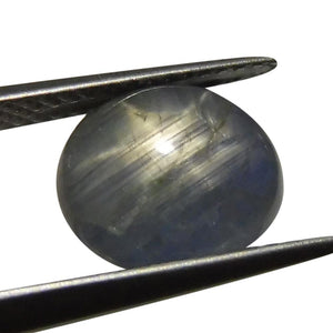 5.12 ct Oval Star Sapphire - Skyjems Wholesale Gemstones