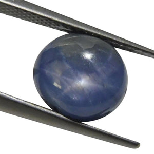 6.30 ct Oval Star Sapphire - Skyjems Wholesale Gemstones