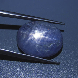 30.31 ct Oval Star Sapphire - Skyjems Wholesale Gemstones