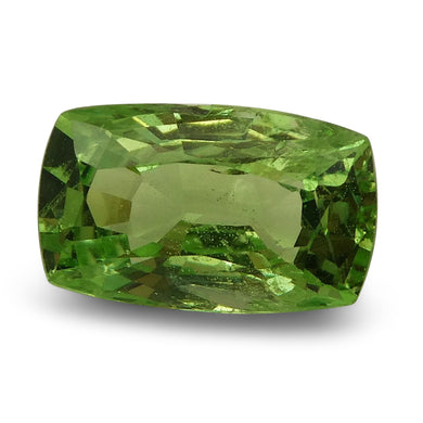 2.24 ct Cushion Green Grossularite / Tsavorite Garnet - Skyjems Wholesale Gemstones