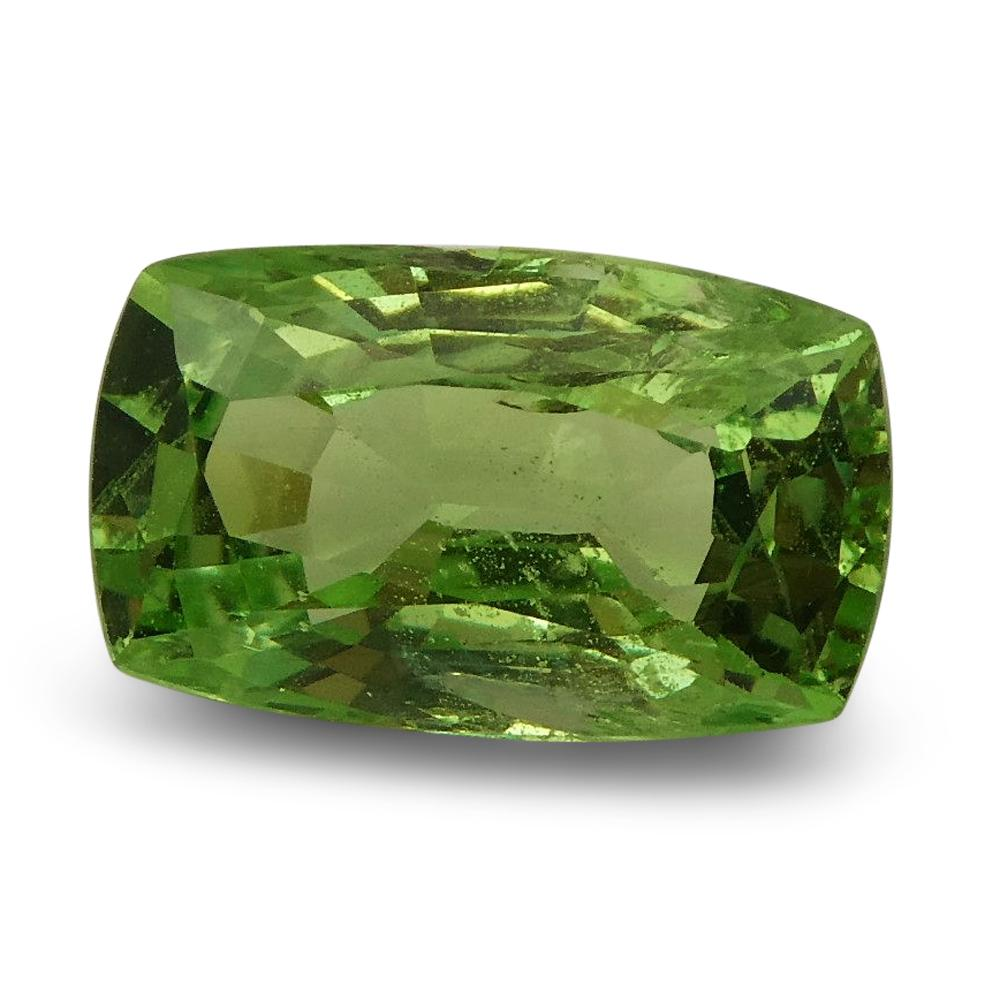 2.24ct Cushion Apple Green Grossular Garnet
