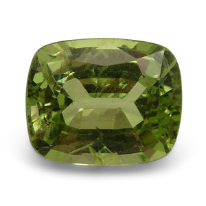 2.78 ct Cushion Green Grossularite / Tsavorite Garnet - Skyjems Wholesale Gemstones