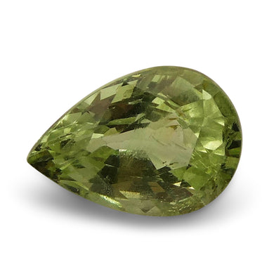 2.21 ct Pear Green Grossularite / Tsavorite Garnet - Skyjems Wholesale Gemstones