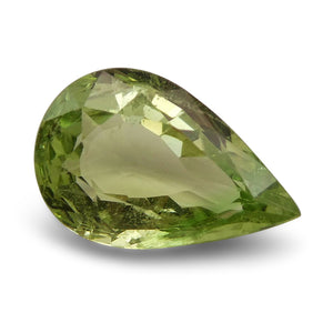 2.56 ct Pear Green Grossularite / Tsavorite Garnet - Skyjems Wholesale Gemstones