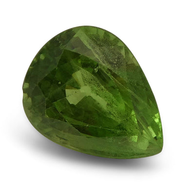 3.02 ct Pear Green Grossularite / Tsavorite Garnet - Skyjems Wholesale Gemstones