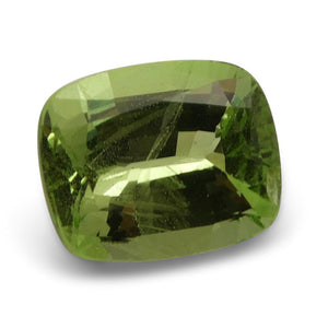 2.62ct Cushion Kiwi Green Grossular Garnet
