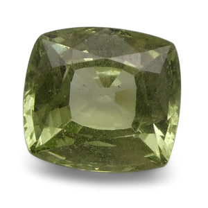 Tsavorite Garnet 3.36 cts 8.58x7.89x5.45mm Square Slightly Yellowish Green  $610
