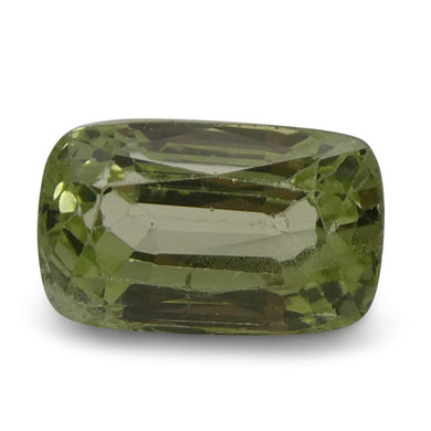Tsavorite Garnet 3.5 cts 9.79x6.08x5.54mm Rectangle Slightly Yellowish Green  $630