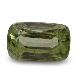 3.50ct Cushion Kiwi Green Grossular Garnet - Skyjems Wholesale Gemstones