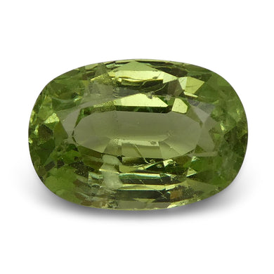 3.40 ct Oval Green Grossularite / Tsavorite Garnet - Skyjems Wholesale Gemstones