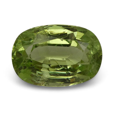 3.40ct Oval Kiwi Green Grossular Garnet - Skyjems Wholesale Gemstones
