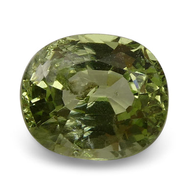 2.08 ct Oval Green Grossularite / Tsavorite Garnet - Skyjems Wholesale Gemstones