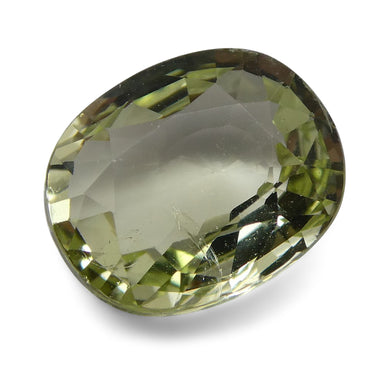 1.99 ct Cushion Green Grossularite / Tsavorite Garnet - Skyjems Wholesale Gemstones