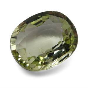 Tsavorite Garnet 1.99 cts 8.62x7.09x3.68mm Oval Slightly Yellowish Green  $160