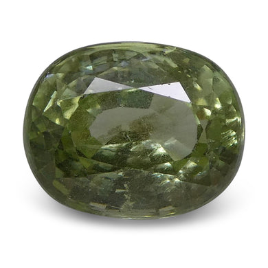 4.01 ct Oval Green Grossularite / Tsavorite Garnet - Skyjems Wholesale Gemstones