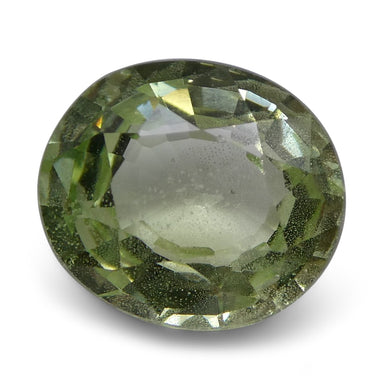 2.14 ct Oval Green Grossularite / Tsavorite Garnet - Skyjems Wholesale Gemstones