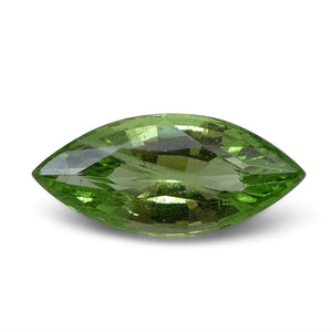 3.08ct Marquise Apple Green Grossular Garnet - Skyjems Wholesale Gemstones