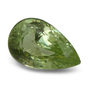 2.05 ct Pear Green Grossularite / Tsavorite Garnet - Skyjems Wholesale Gemstones
