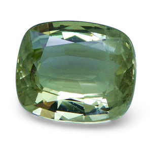 Tsavorite Garnet 2.31 cts 8.25x7.02x3.99mm Cushion Slightly Yellowish Green  $190