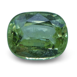2.16 ct Cushion Green Grossularite / Tsavorite Garnet - Skyjems Wholesale Gemstones