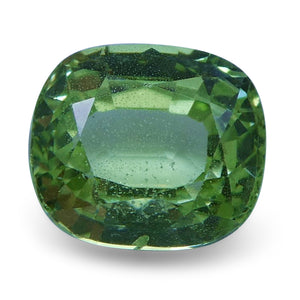2.01 ct Cushion Green Grossularite / Tsavorite Garnet - Skyjems Wholesale Gemstones
