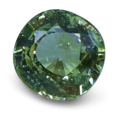 2.06 ct Cushion Green Grossularite / Tsavorite Garnet - Skyjems Wholesale Gemstones