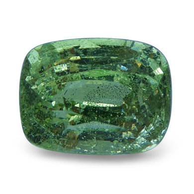 Tsavorite Garnet 2.07 cts 7.90x6.06x4.97mm Cushion Slightly Yellowish Green  $170