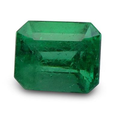 Emerald 0.75 cts 6.03x5.00x4.36mm Emerald Cut Green  $225